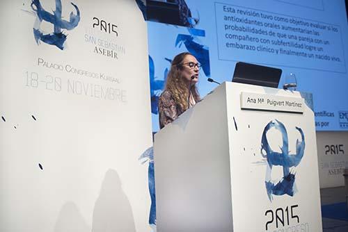 La Dra.Puigvert en el VIII Congreso Nacional de la Asociación Española de Biólogos de la Reproducción (ASEBIR)